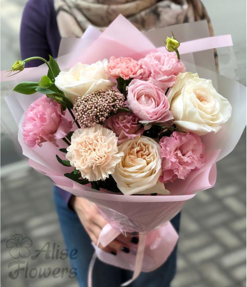 заказать Розовый букет в Петербурге