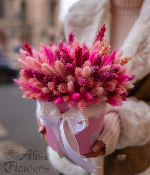 заказать Букет из сухоцветов в Петербурге