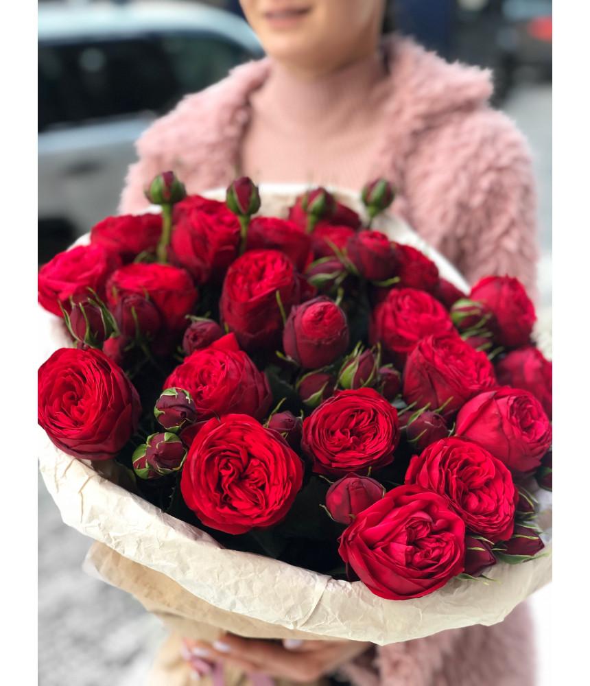 Букет из  роз Рэд Пиано