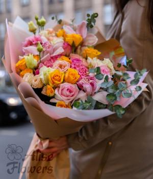 Букет из роз необыкновенный
