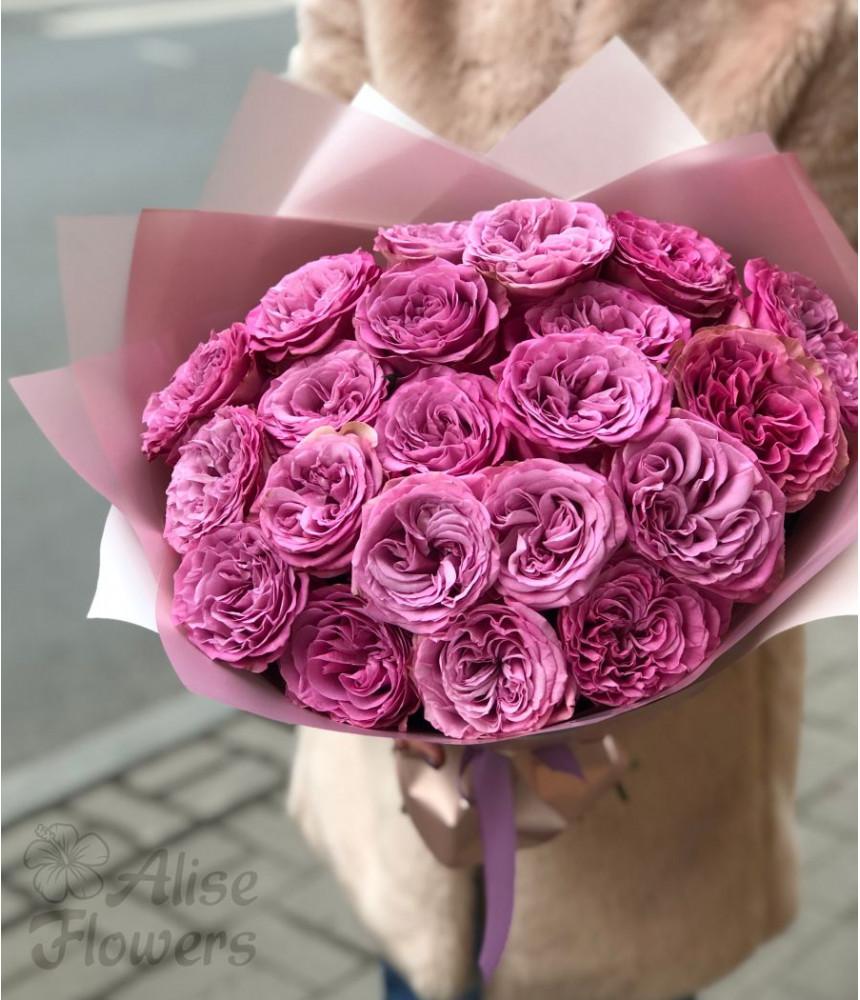 """Букет из пионовидных роз """"волшебный"""""""