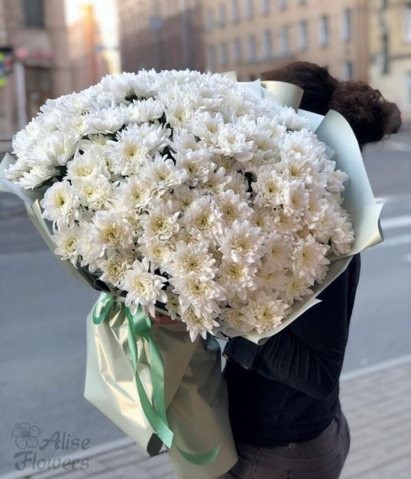 заказать Букет из хризантем в Петербурге