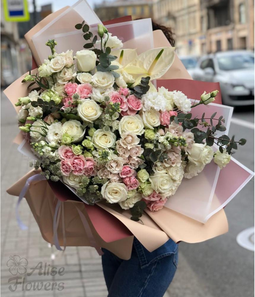 Букет из розы Летний