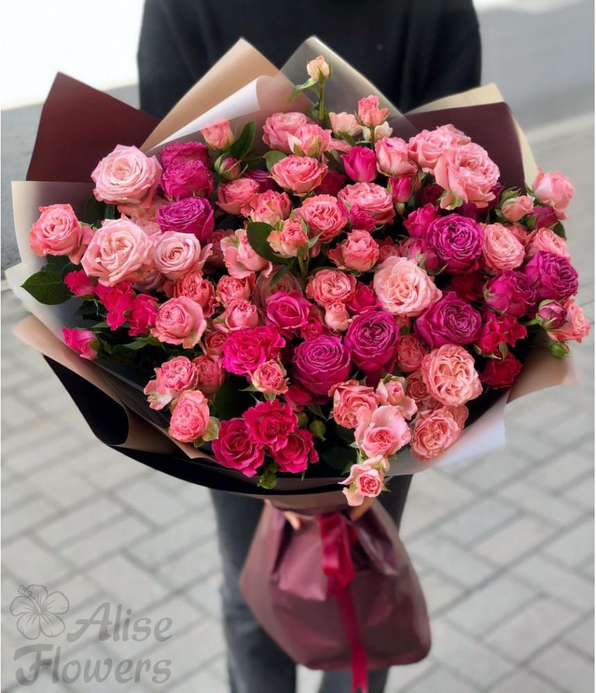 Букет из роз великолепный