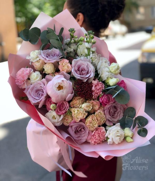 заказать Розовый всплеск в Петербурге