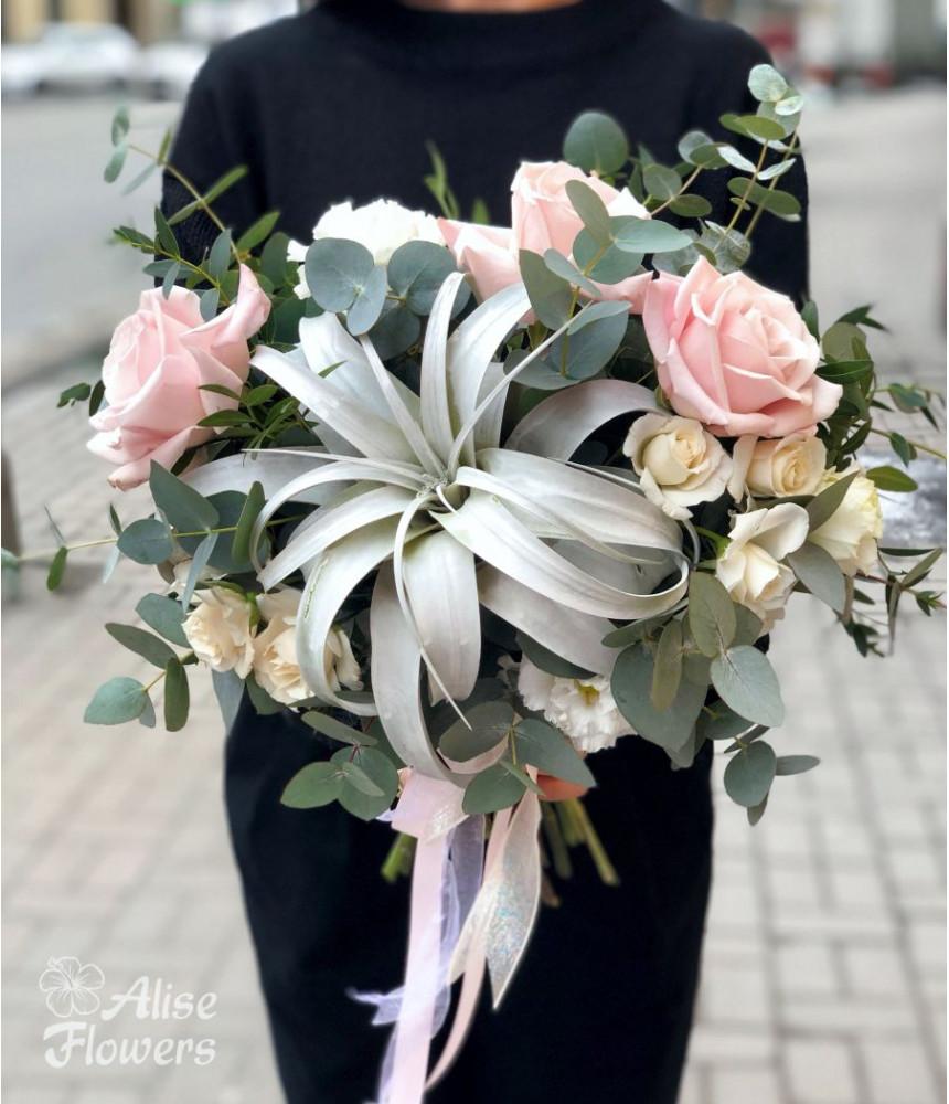 Букет Невесты светлый