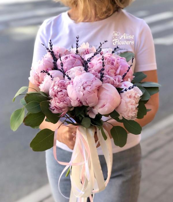 заказать Букет розовое облако в Петербурге