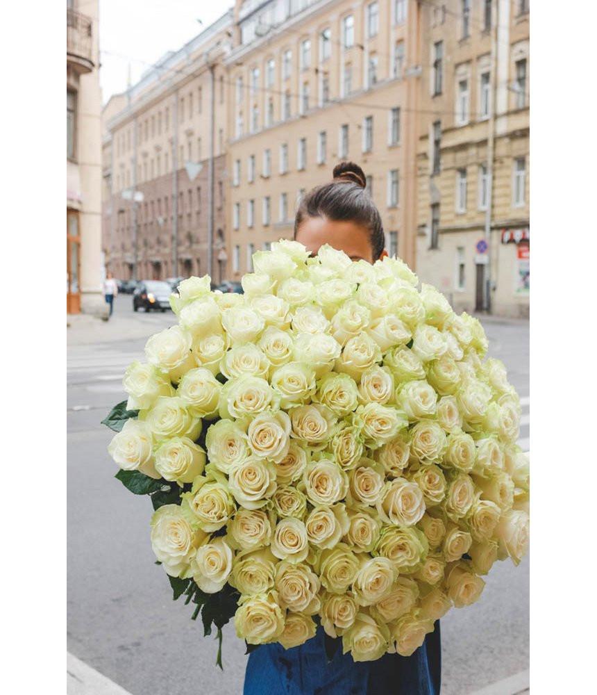 """заказать Букет из 51 розы """"Mondial"""" в Петербурге"""