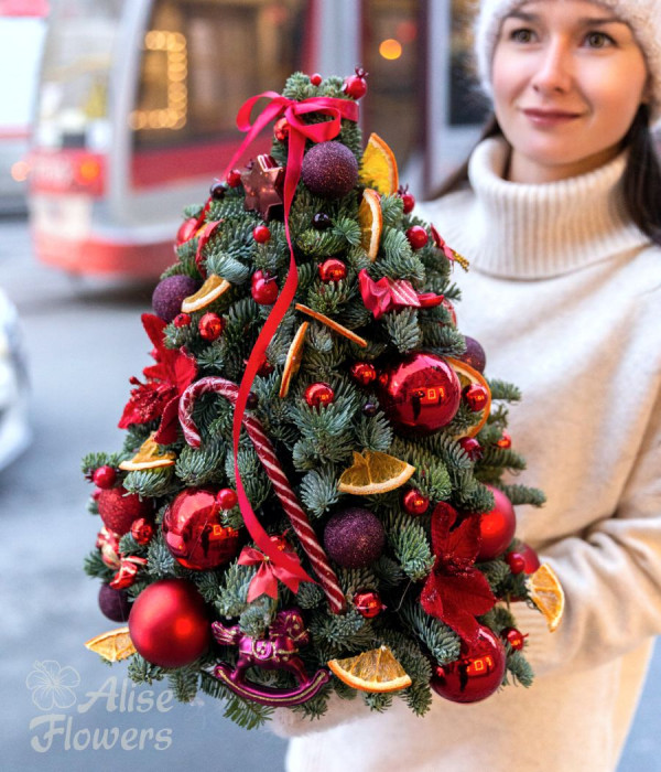 заказать Новогодняя декоративная Ёлочка в Петербурге